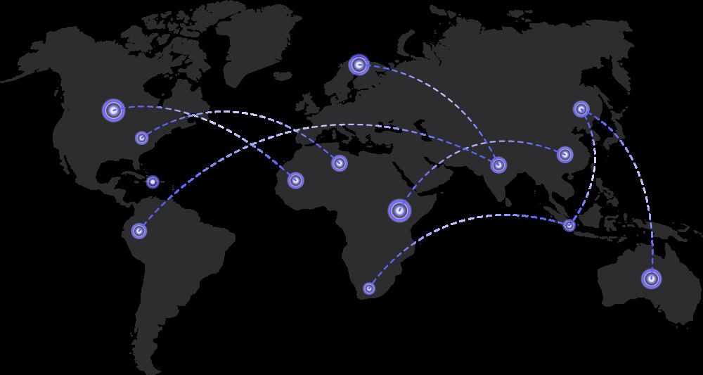 Investor Profile World Map Image