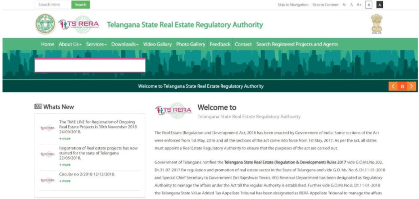 How to register for a Real Estate Project in Telangana